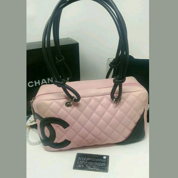 969be1675c115b CHANEL Bags | Sale Auth Cambon Pink Satchel Purse | Poshmark